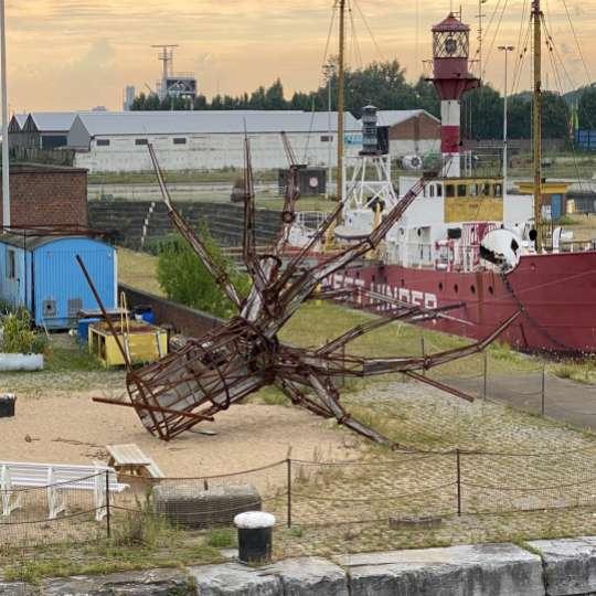 Hier entsteht ein maritimes Museum in Antwerpen