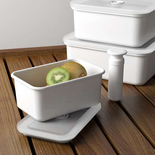 Honey Ware - Vakuum Frischhaltedosen mit Obst
