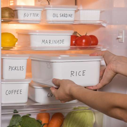 Honey Ware Frischhaltedosen im Kühlschrank