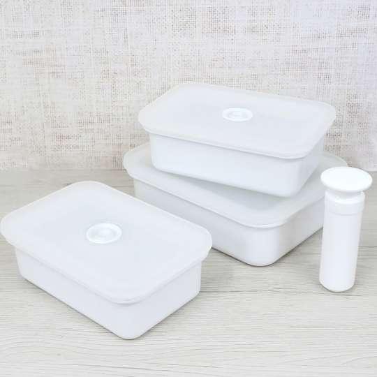 Honey Ware - Vakuum Frischhaltedosen mit Vakuumpumpe