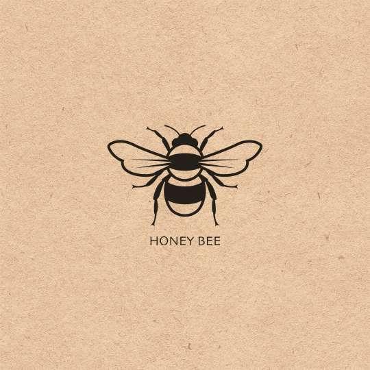 Ambiente - Honigbiene Serviettenmuster