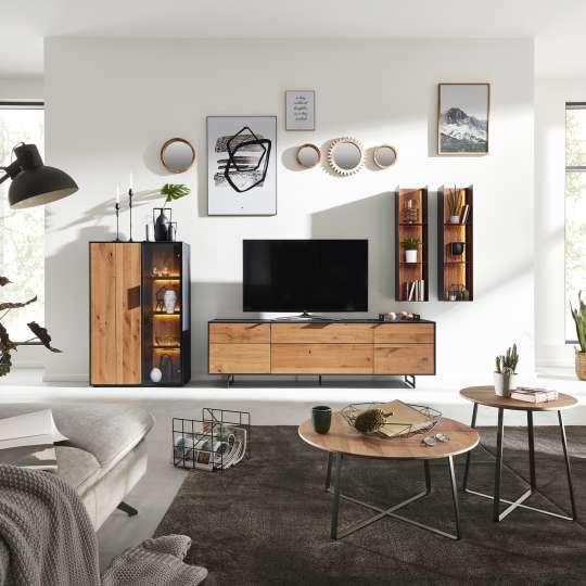 Interliving Wohnzimmer Serie 2008 Wohnwand