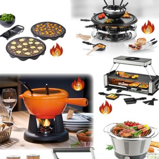 TrendXpress Kochen am Tisch Produktvorschläge