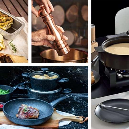 Schnellinfo – Produktneuheiten –  Kochen und Küche