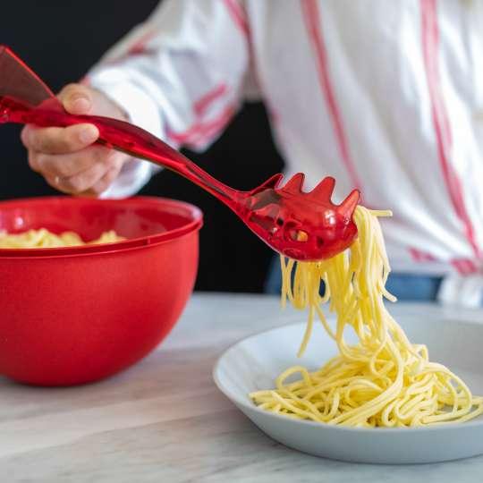 3020-GINA Spaghettiheber in rot von Koziol