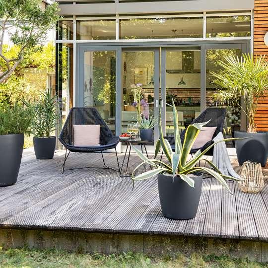 Lechuza - Classico Color - verschiedene Größen - Terrasse
