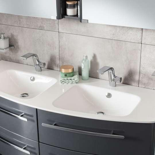 Lanzet CLASSICO - Waschtisch - Weiß-Glanz