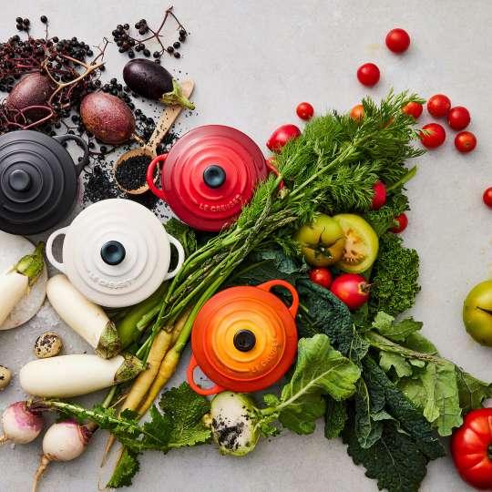 Le Creuset - Farm Fresh - Bräter rund - Farben der Natur