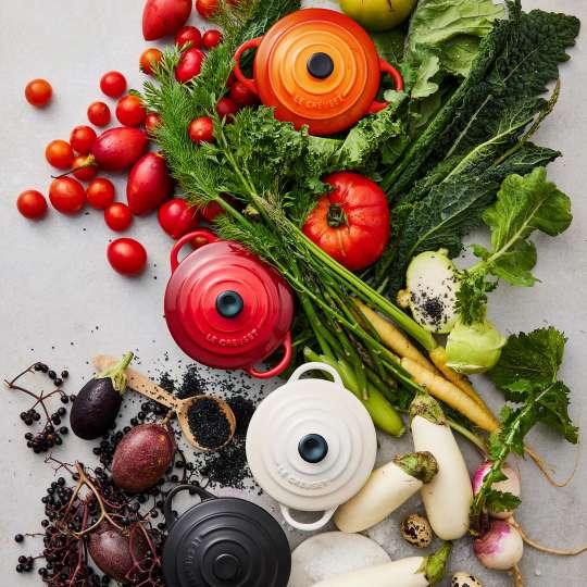 Le Creuset - Farm Fresh - Bräter rund - alle Farben