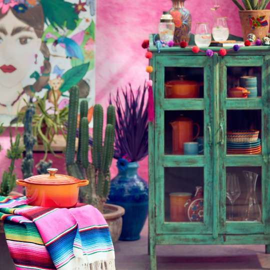 Le Creuset Taste Adventure Heat & Eat Mexiko mit Schrank