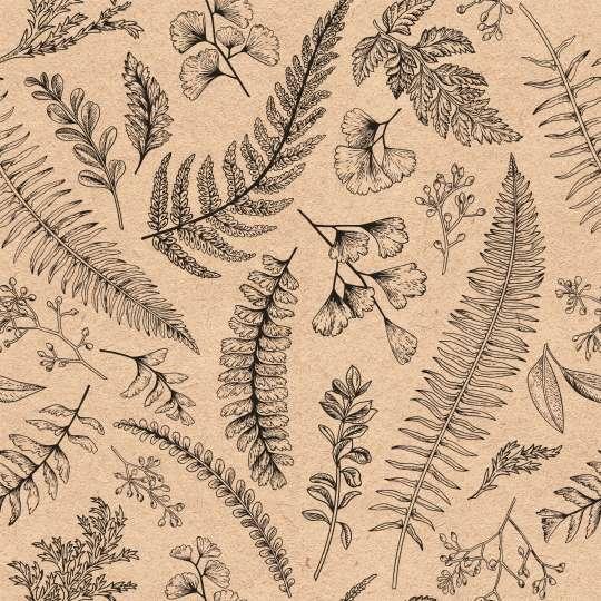 Ambiente - Blätter & Kräuter Serviettenmuster