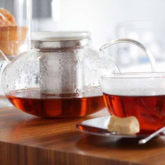 Leonardo - MOON Teekanne mit Tasse und Gebäck
