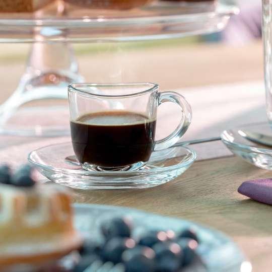 Leonardo - Napoli Espressotasse mit Untertasse