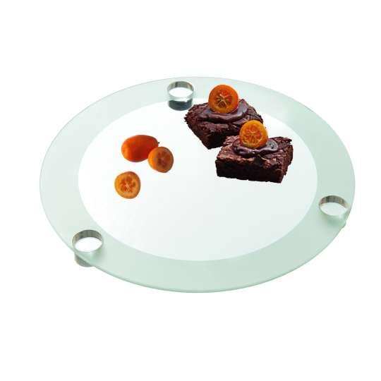 Leonardo SPIRIT Tortenplatte 33 mit Kuchen
