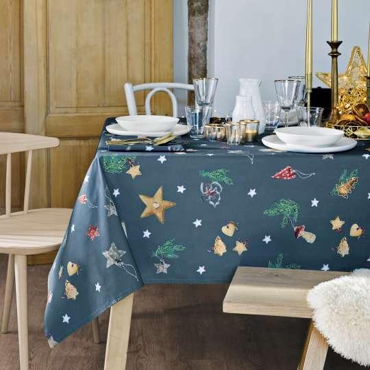 Linvosges Tischdecke Weihnachtsstimmung