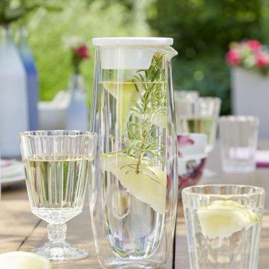 Villeroy & Boch - Artesano Hot&Cold Beverages Glaskaraffe mit Deckel