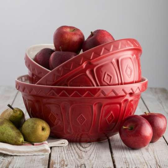 MasonCash farbige Rührschüssel, rot