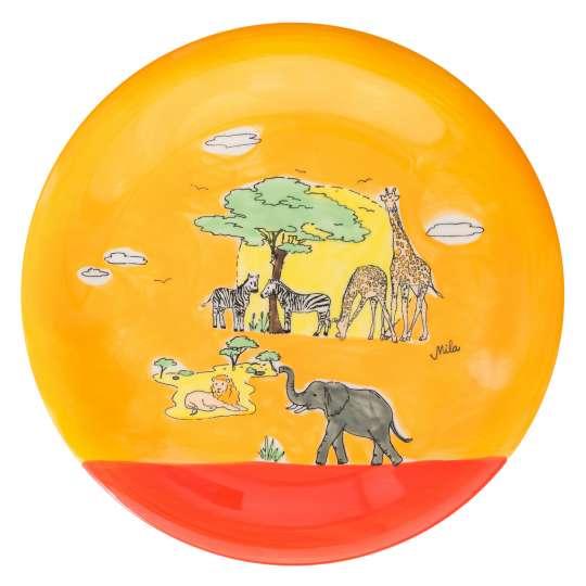 Mila Design Teller Motiv Afrika - 84211