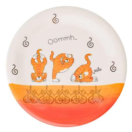 Mila Design -OOMMH KATZE YOGA Teller: Art. 84212