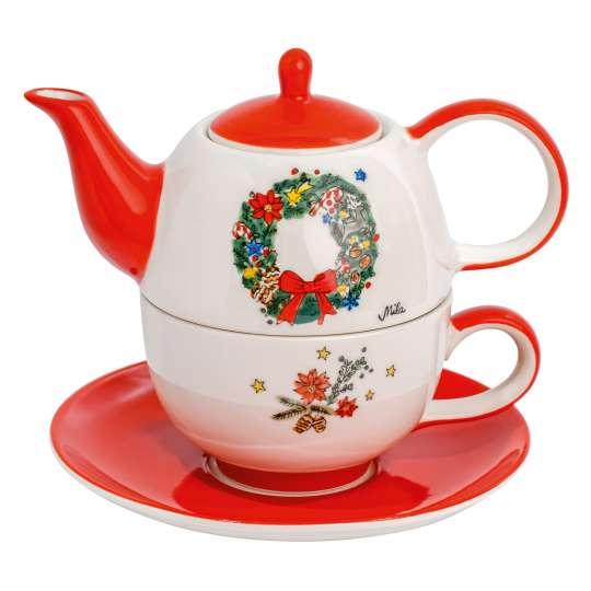 Mila-Design-Tea-for-one Weihnachtskranz-99219
