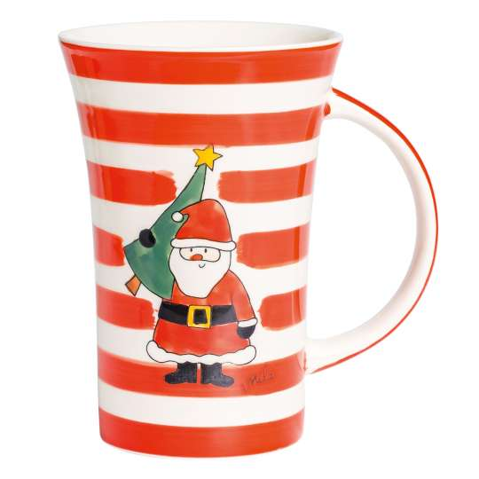 Mila-Design-Becher-Weihnachtsmann-82223