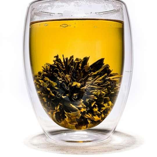 Nibelungentee - China Tea-Rose im Glas
