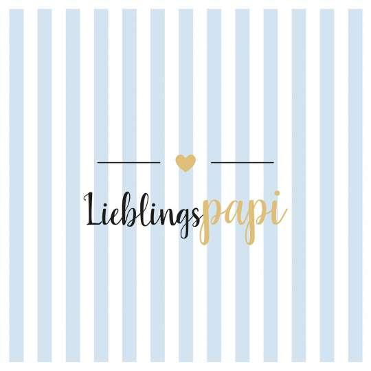 PPD 1334002 Lieblingspapi Napkin