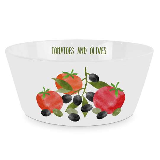 PPD 604345 Tomatoes & Olives Trend Bowl