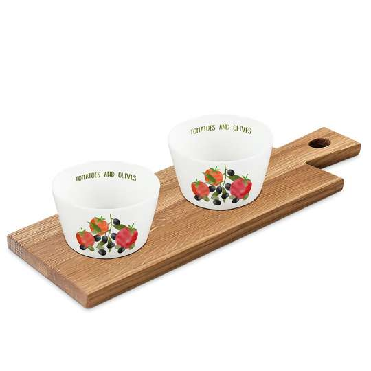 PPD 604359·Tomatoes & Olives Dip set nature