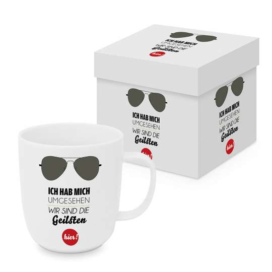 PPD - Matte Mug 0,4l - Sonnenbrille