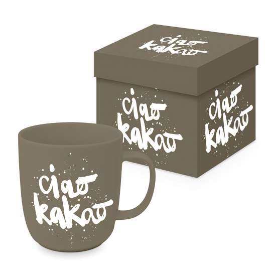 PPD - Matte Mug 0,4l - Ciao Kakao