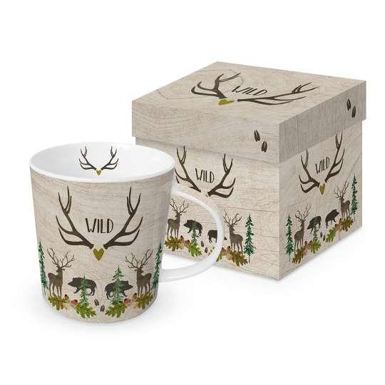 604523 Wild Trend Becher/Mug in Geschenkverpackung 0,35l