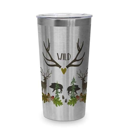 604528 Wild Travel Becher/Mug 0,43l
