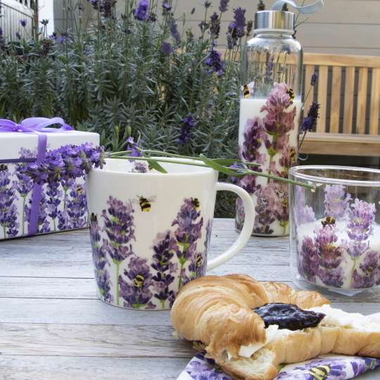 PPD Bees&Lavender gedeckter Tisch
