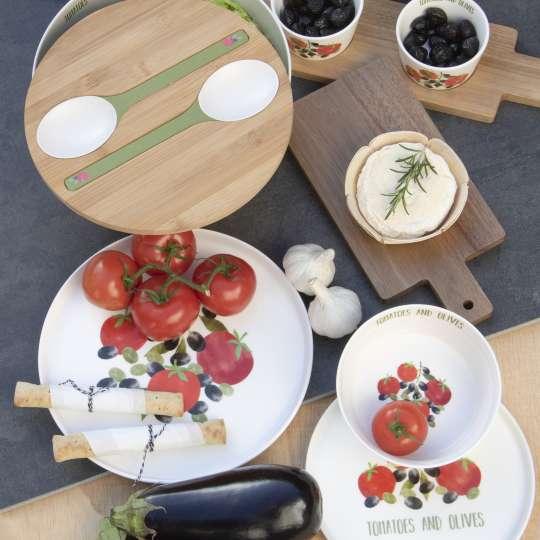 PPD Tomatoes&Olives gedeckter Tisch