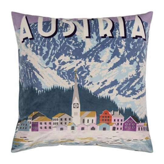 Austria Kissenhülle in aqua von pad