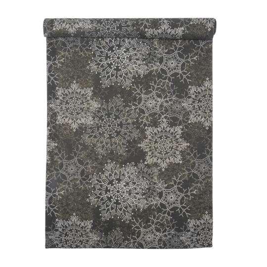 Glamour Tischläufer in grey von pad