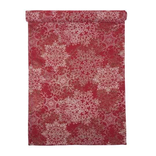 Glamour Tischläufer in red von pad