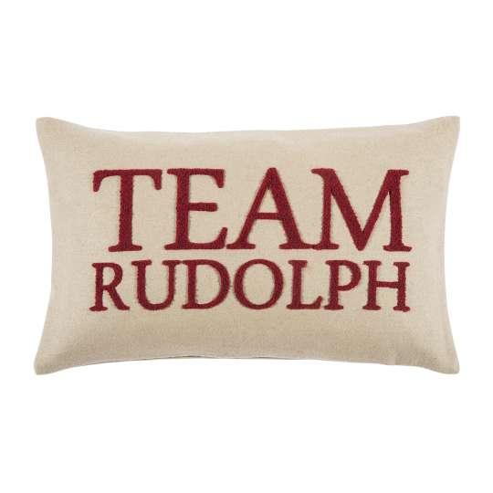 Rudolph Kissenhülle in taupe von pad