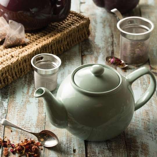 Price&Kensington-Teesieb und Teekanne