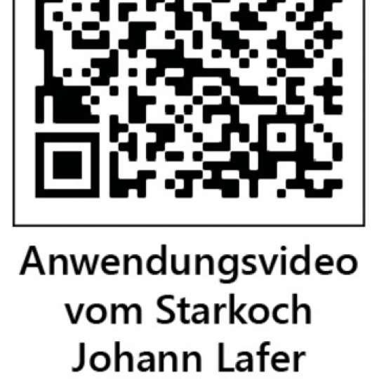 Anwendung Diamantschleifer - QR Code Johann Lafer