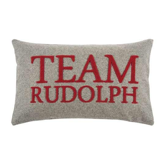 Rudolph Kissenhülle in grey von pad