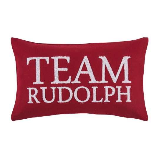 Rudolph Kissenhülle in red von pad
