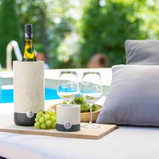 Rokstyle: Weinkühler Kalkstein und Granit RL006