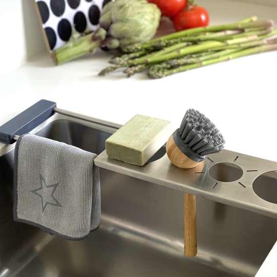 Sanni Shoo - drip.it – Multifunktionaler Abtropfhalter für die Spüle