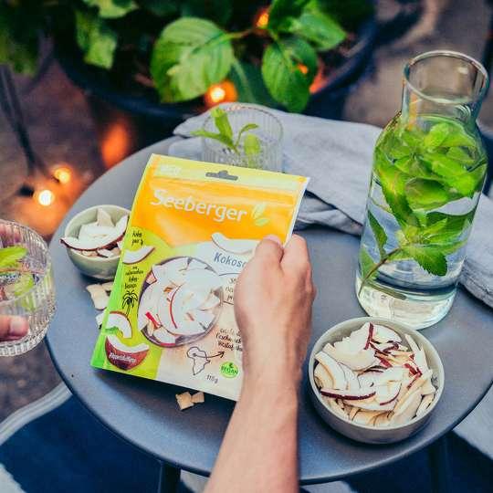 Seeberger - Kokoschips - sommerlicher Snack