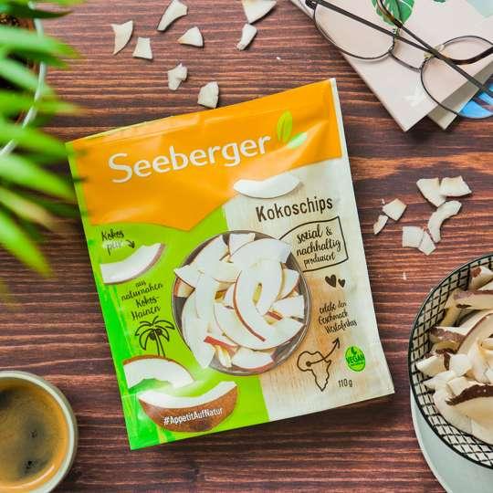 Seeberger - Kokoschips mit Kaffee