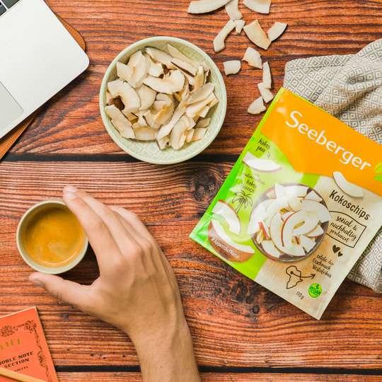 Seeberger - Kokoschips als Snack