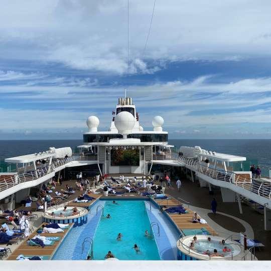 Seetag an Bord