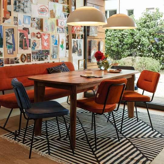 TOM TAILOR Dining Orange Blau Stimmungsbild01